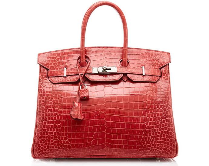 Hermès Birkin, Crocodile