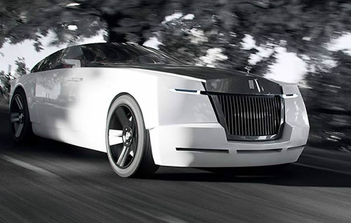 A bizarre Rolls Royce concept that has a special something for