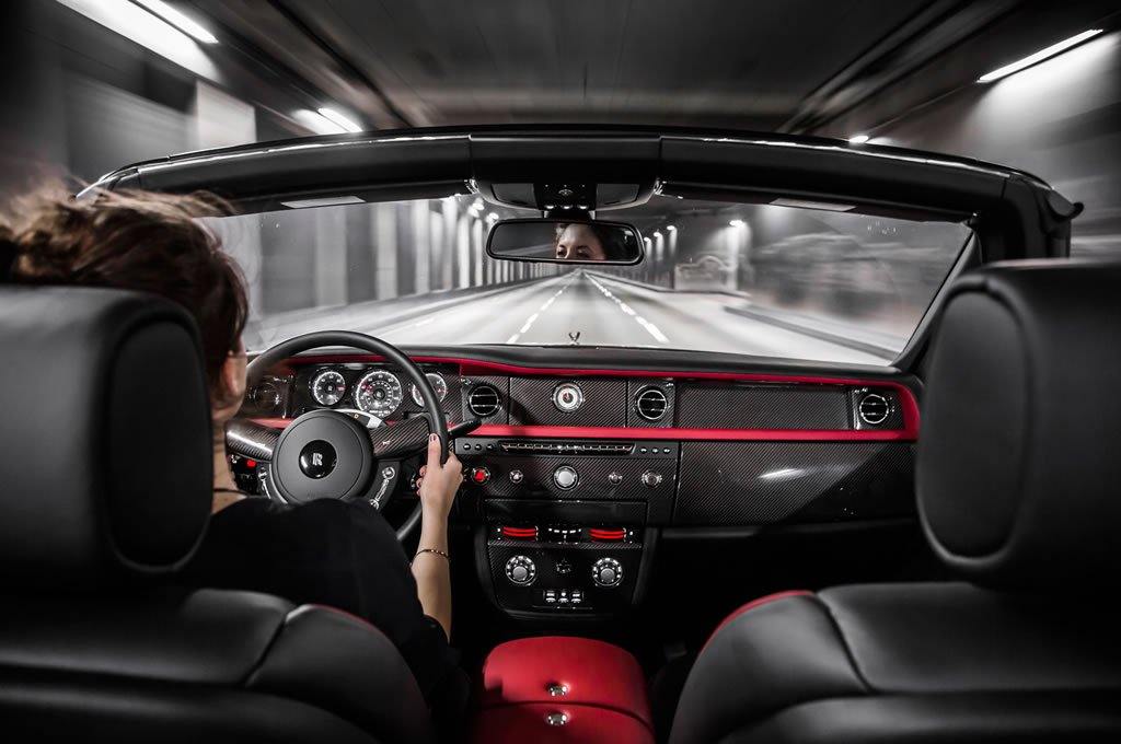 Stealth Fighter Inspired Bespoke Rolls Royce Drophead Coupe Nighthawk Edition Is Wicked
