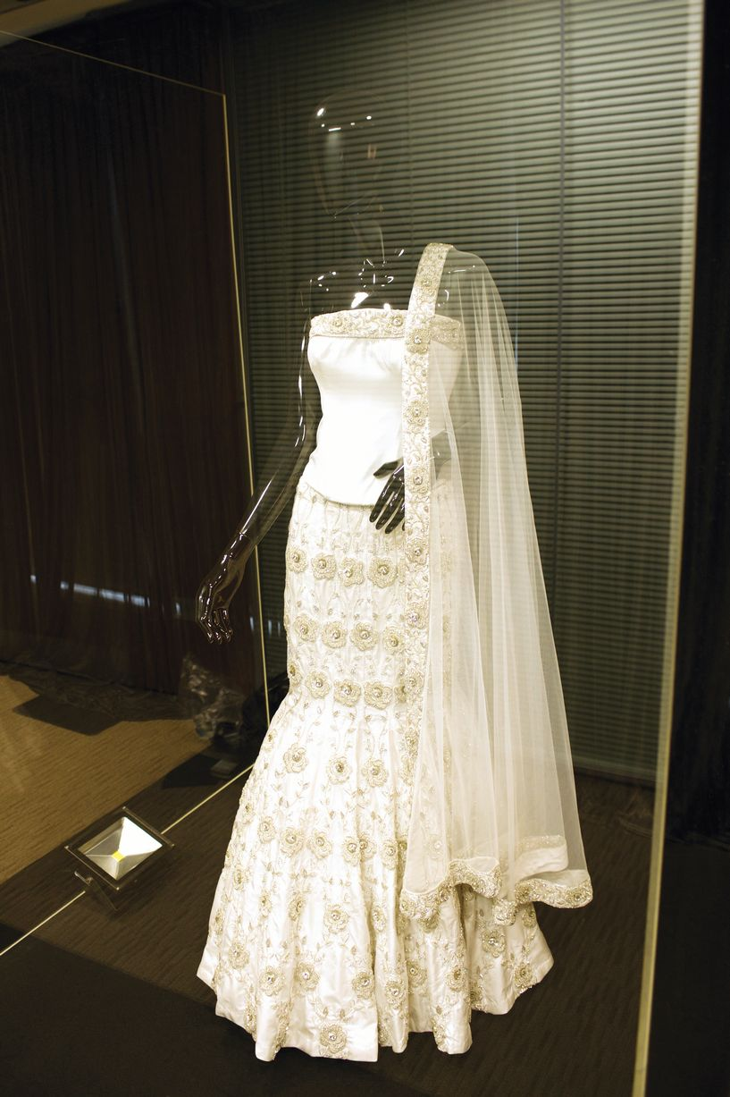 Studded With Diamonds The Most Expensive Asian Wedding Dress