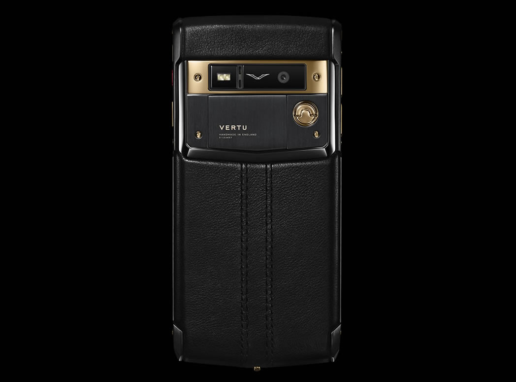 Vertu S Signature Touch Pure Jet Red Gold Priced At 21 900 Is A Stunning Piece Of Mobile