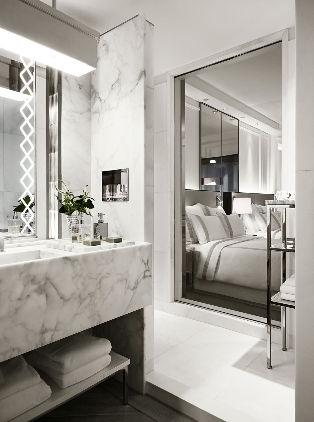 Suite Of The Week The Delightful Prestige Suite At The Baccarat Hotel And Residences New York