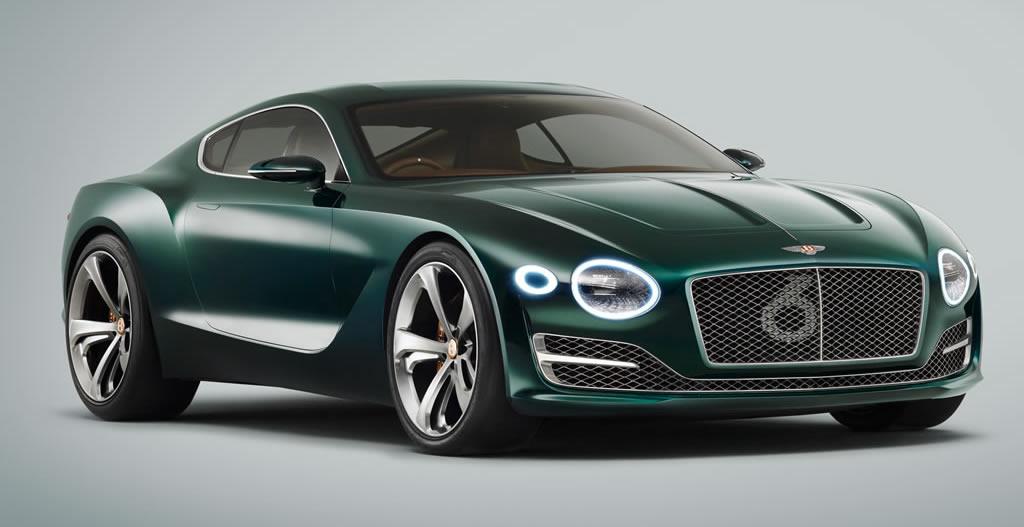 Drop Dead Gorgeous Bentley EXP Speed Concept - Aston martin two door