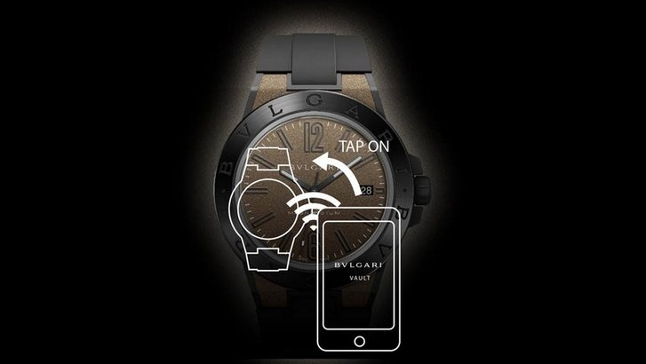 Bulgari's NFC enabled Diagono Magnesium concept watch can ...