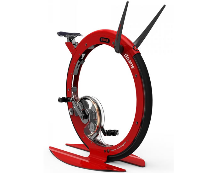 Enter The Tonino Lamborghini Ciclotte Exercise Cycle That