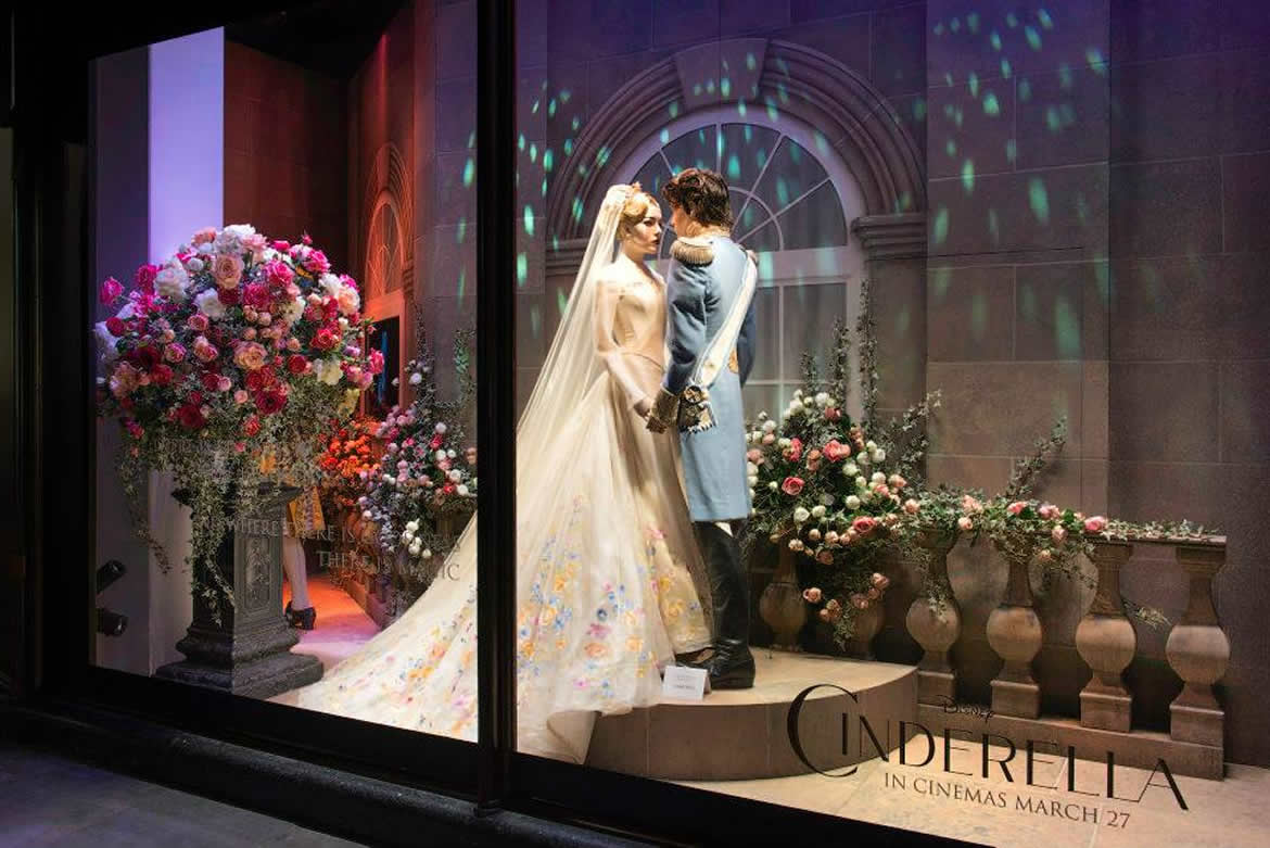 Harrods Windows Tell A Cinderella Story All This Month