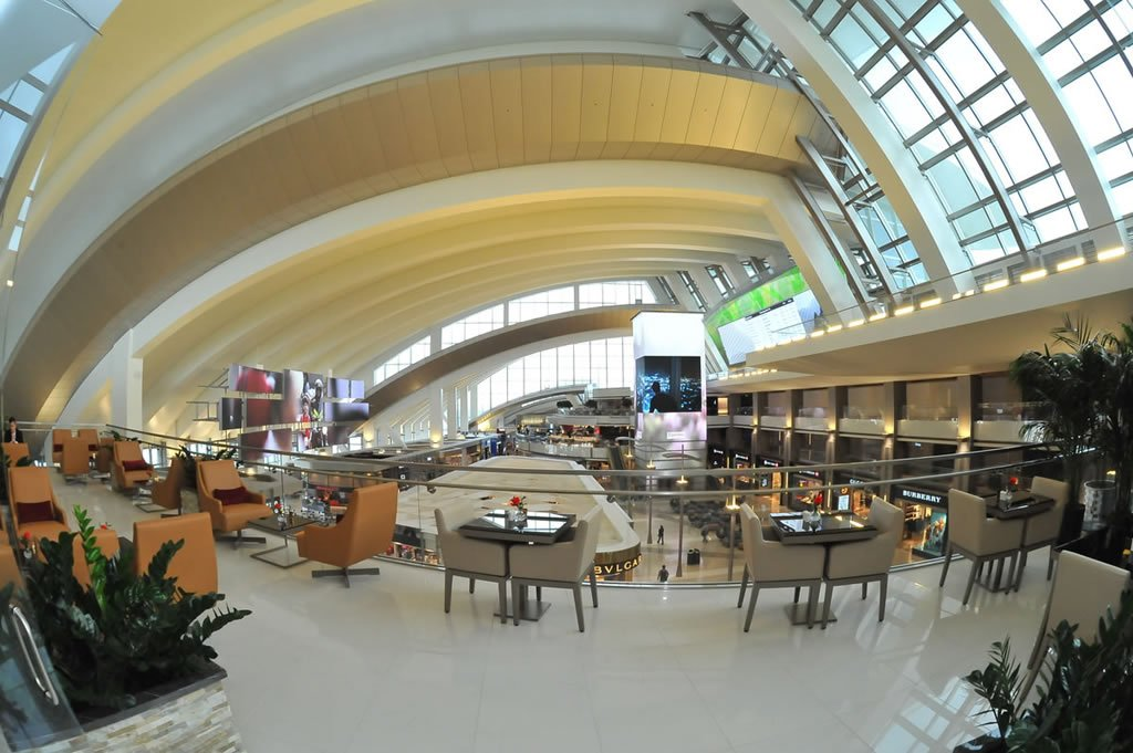 Emirates Opens A Luxurious Lounge At Lax Here Is A Peak