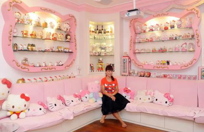 Hello Kitty Dream Home 7 Luxurylaunches
