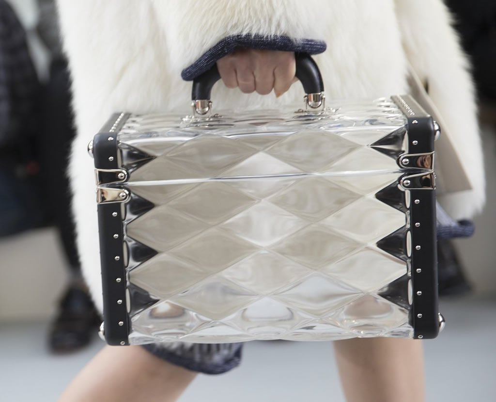 Louis Vuitton S Fall 2015 Handbags Put A Futuristic Spin On Their Classic Trunks