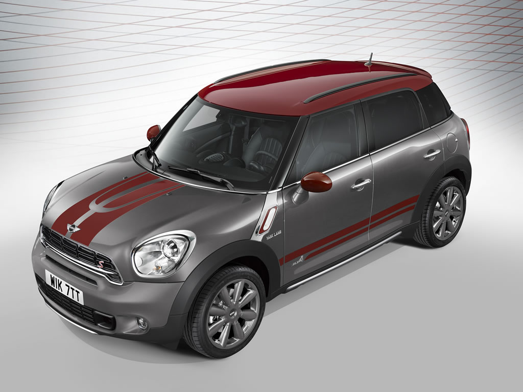 MINI introduces the special edition Countryman Park Lane ...