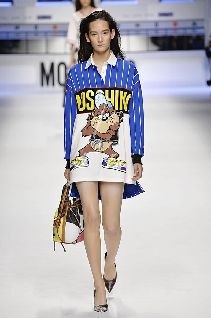 Your favorite Looney Tunes characters hit the runway at