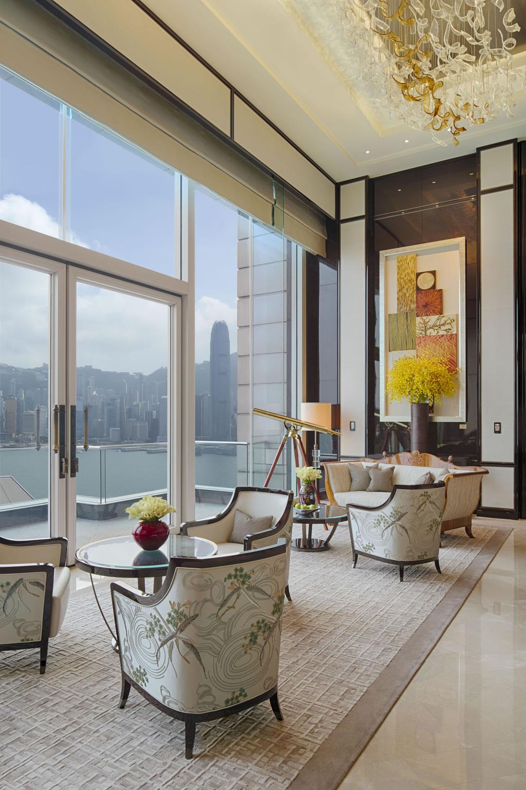Suite of the Week: The unreal Peninsula Suite at The Peninsula Hongkong -