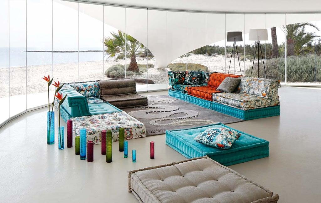 Roche Bobois Trendy Mah Jong Sofa Gets, Where Is Roche Bobois Furniture Made