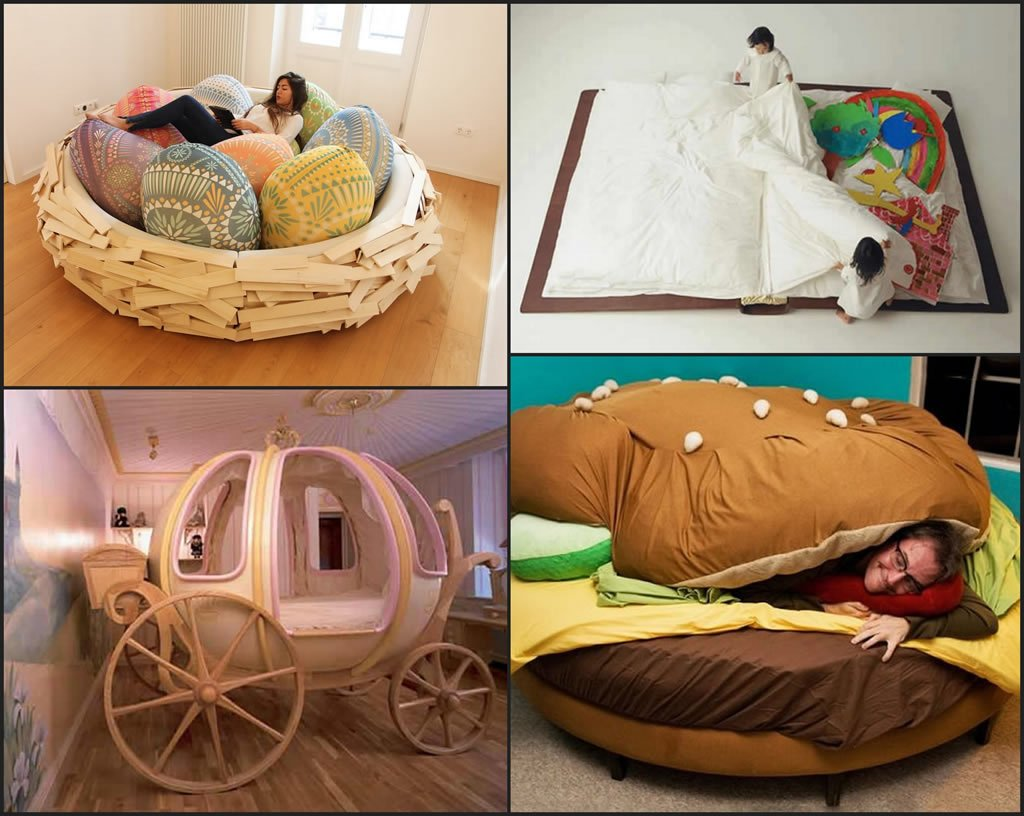 Good Five Innovative And Fun Beds For Children Photo