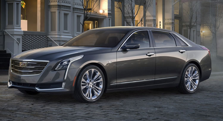 Most Expensive BMW >> 2016 Cadillac CT6 revealed; it is GM's answer to the big ...