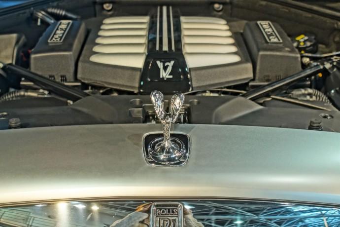 The majestic Rolls Royce Ghost