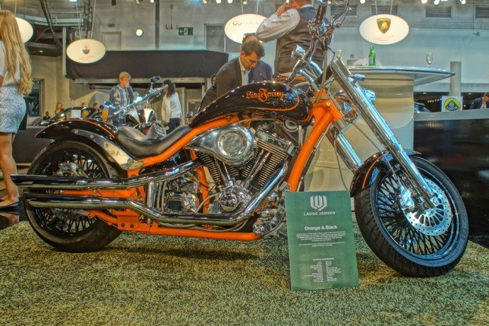 The exclusive, personalised Lauge Jensen motorcycle
