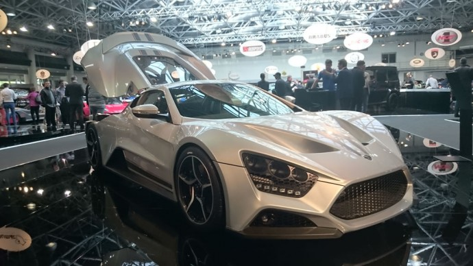 The stylish, high-performance Zenvo ST1 hypercar