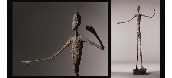 Giacometti's_Pointing Man