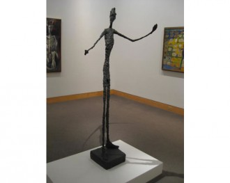 Giacometti's_Pointing Man_