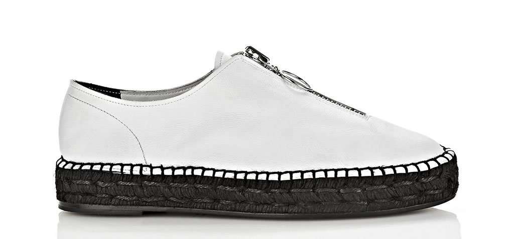 Could you pull off Alexander Wang's Sneaker-Espadrille hybrid? -