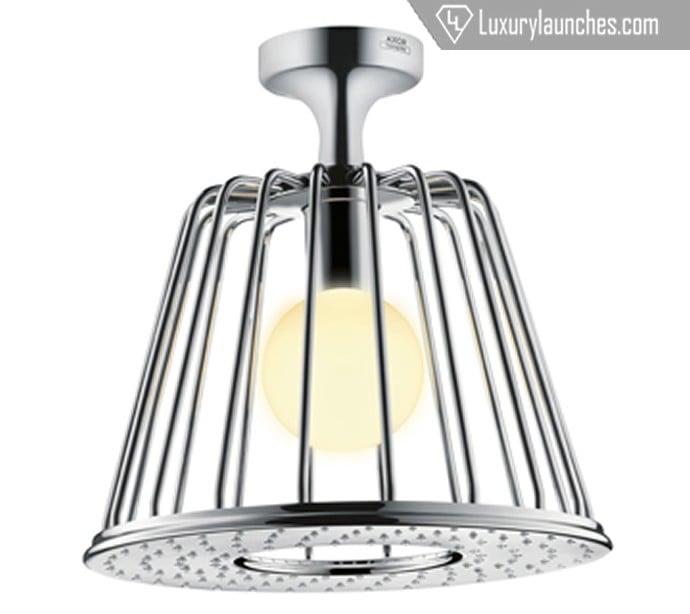 axor-lampshower-nendo-ceiling-chrome-light