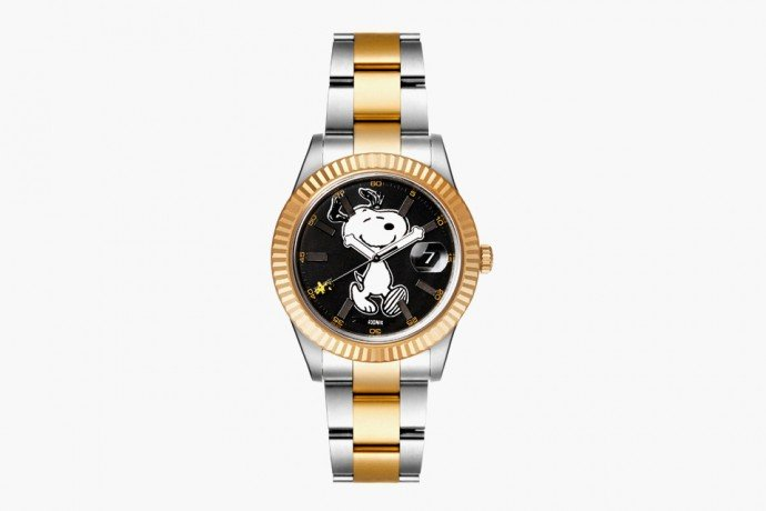 Bamford Watch Department and Rodnik Band create another Snoopy inspired watch