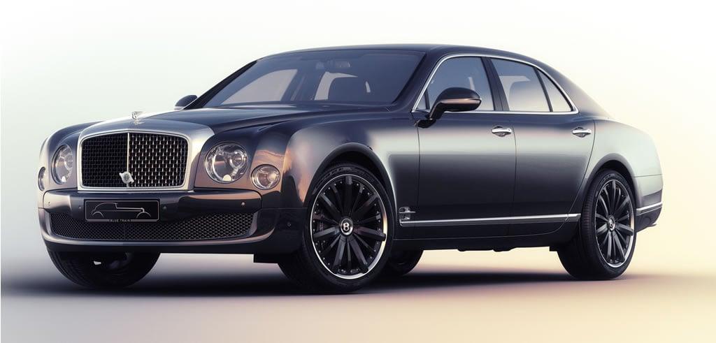 Bentley Mulsanne Speed 'blue
