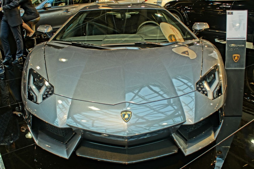 The legendary Lamborghini Aventador