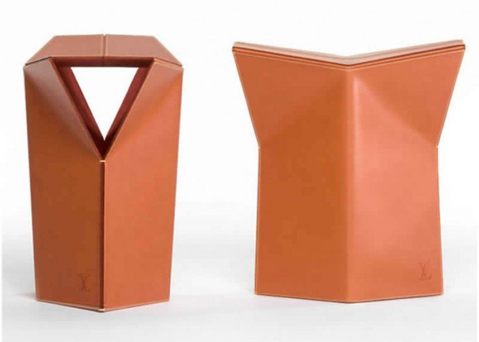 leather-stool