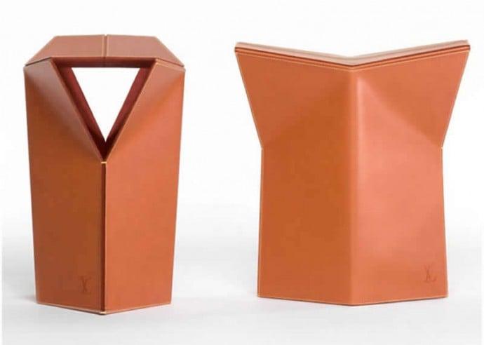 leather-stool