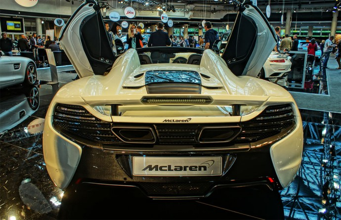The lightening-fast McLaren 650