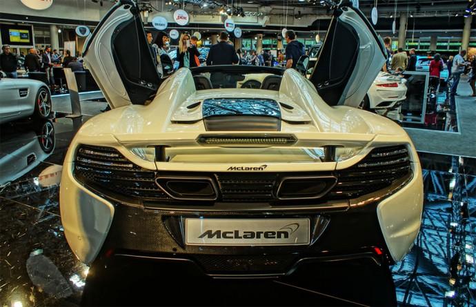 The lightening-fast McLaren 650