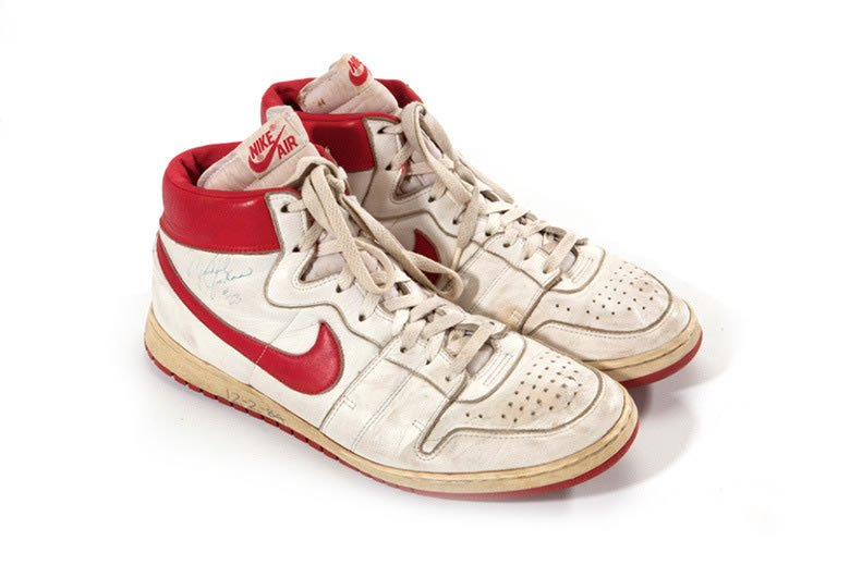 Michael Jordan s 30 year-old Nike Airs sell for a little less than  100k 72fdf02a3