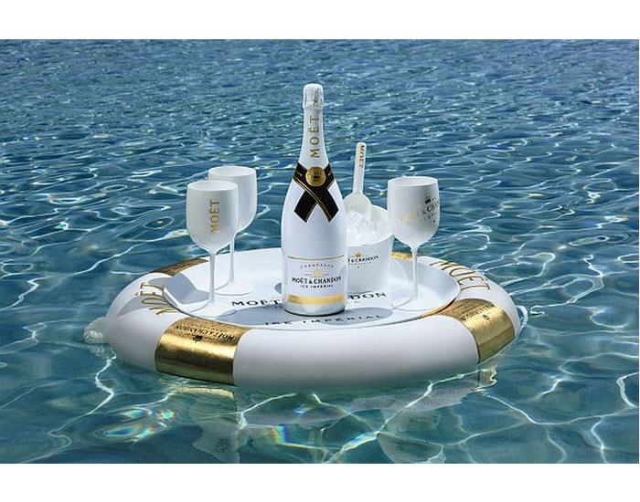 Ice Imperial Moet Chandon S Latest Goes On The Rocks