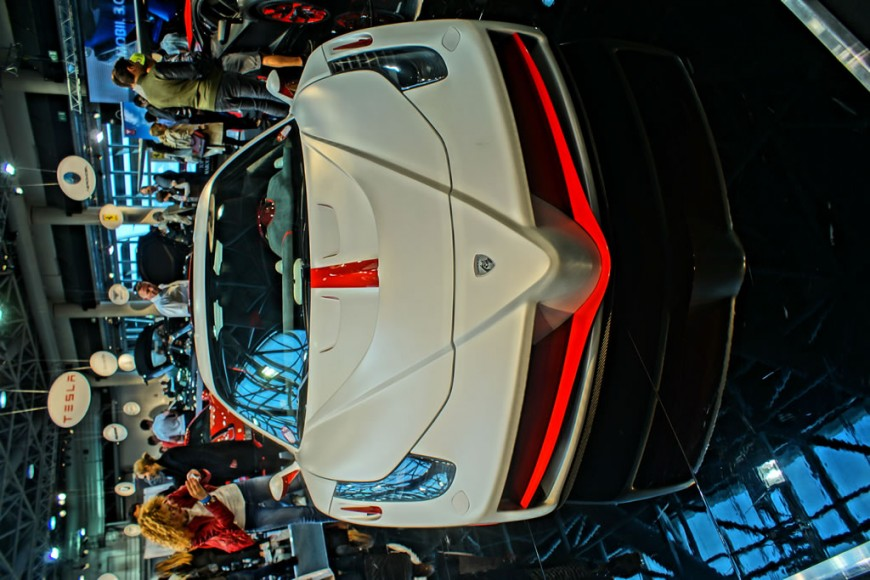 The custom-designed, high-performance Nimrod Katyusha