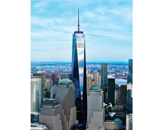 One World Observatory At The Top Of One World Trade Center