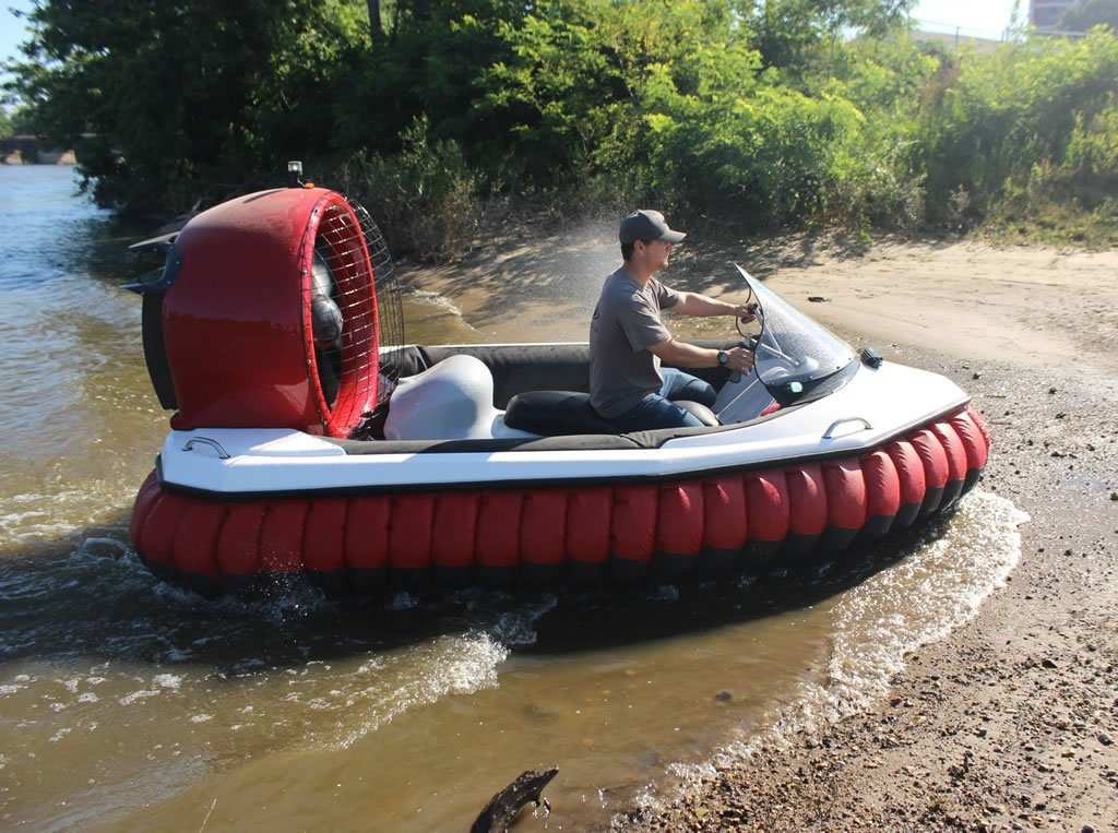 The Renegade Hovercraft Is Like Your Personal All Terrain