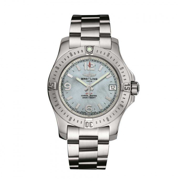 Breitling-watches-for-women_Breitling-Colt-36-Steel_Mother-of-Pearl-Dial