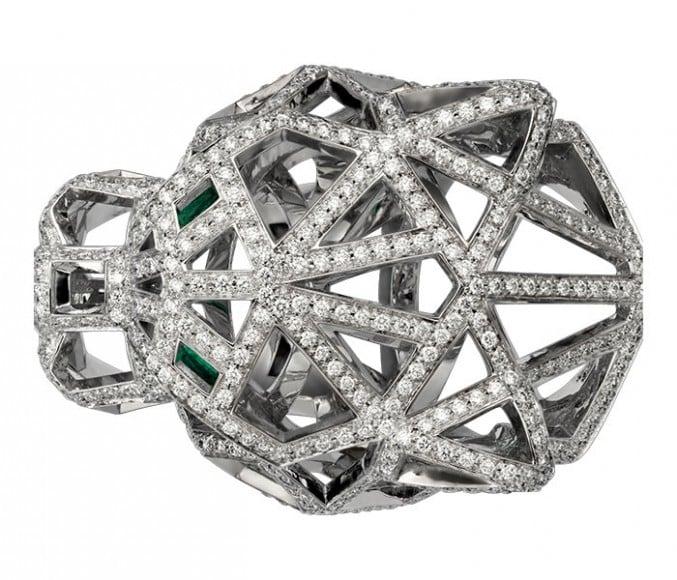 Cartier's Panthère De Cartier ring