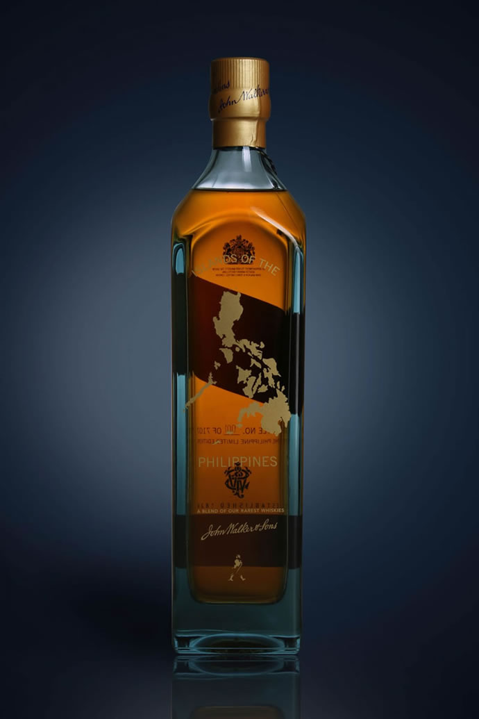 Limited Edition Johnnie Walker Blue Label Bottles For The