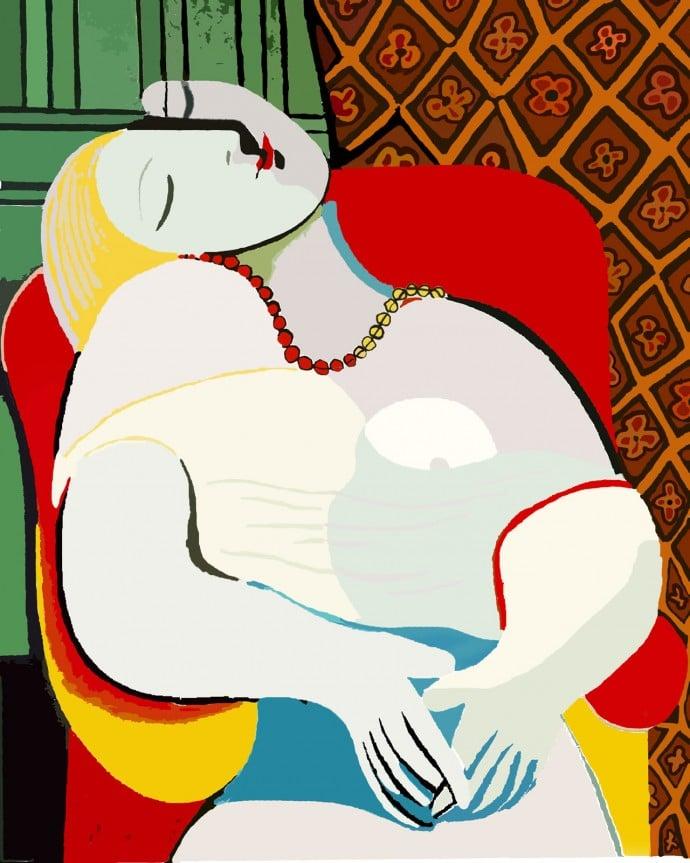Le-Rêve-Pablo-Picasso