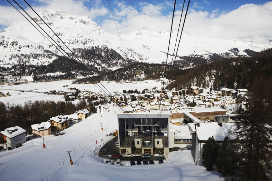 The first Ski-in Ski out hotel in the town.