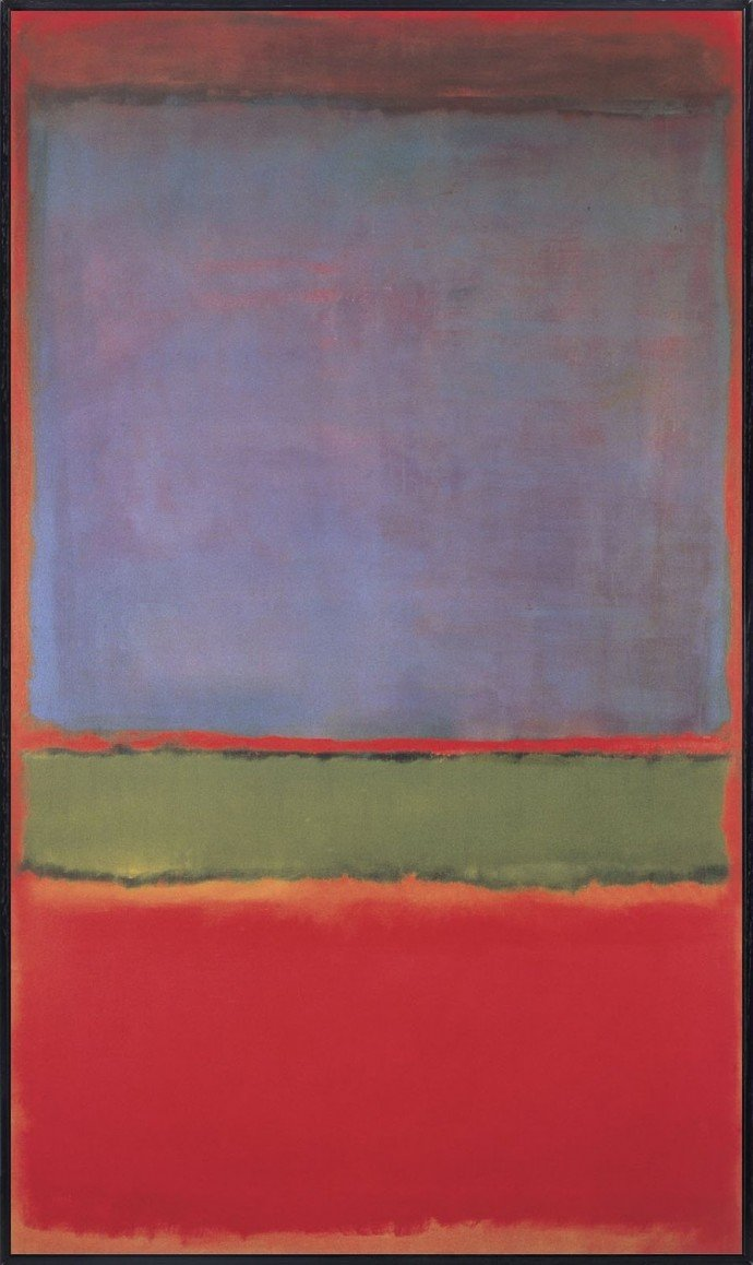 No-6-(Violet-Green-and-Red) -Mark-Rothko