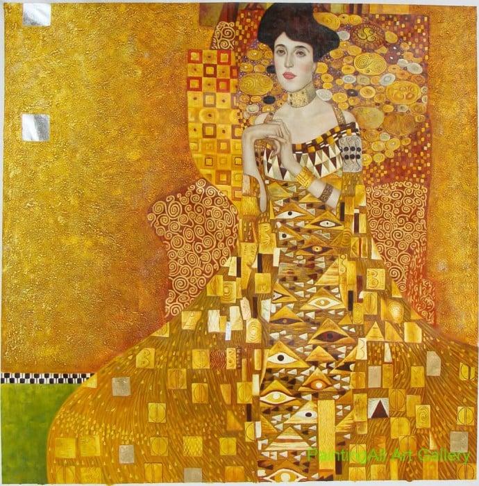 Portrait-of-Adele-Block-Bauer-I--by-Gustav-Klimt