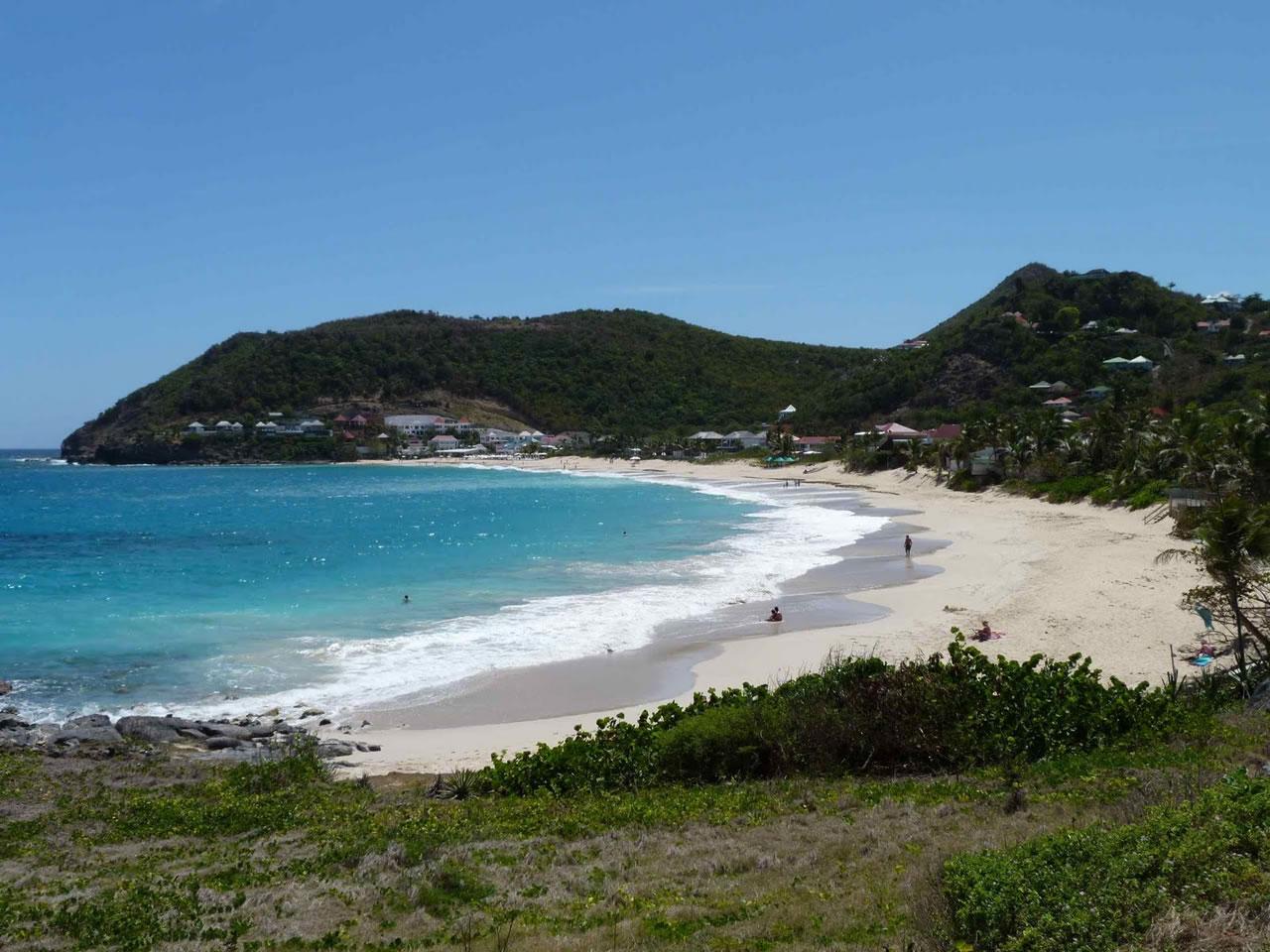 St Barts Beach Location