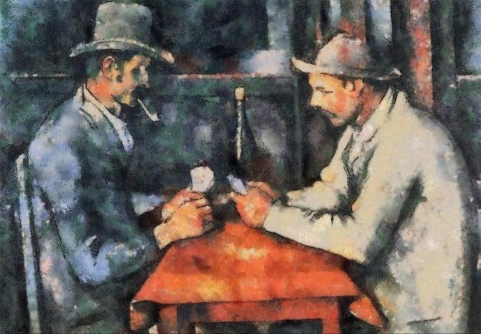 The-Card-Players -Paul-Cézanne