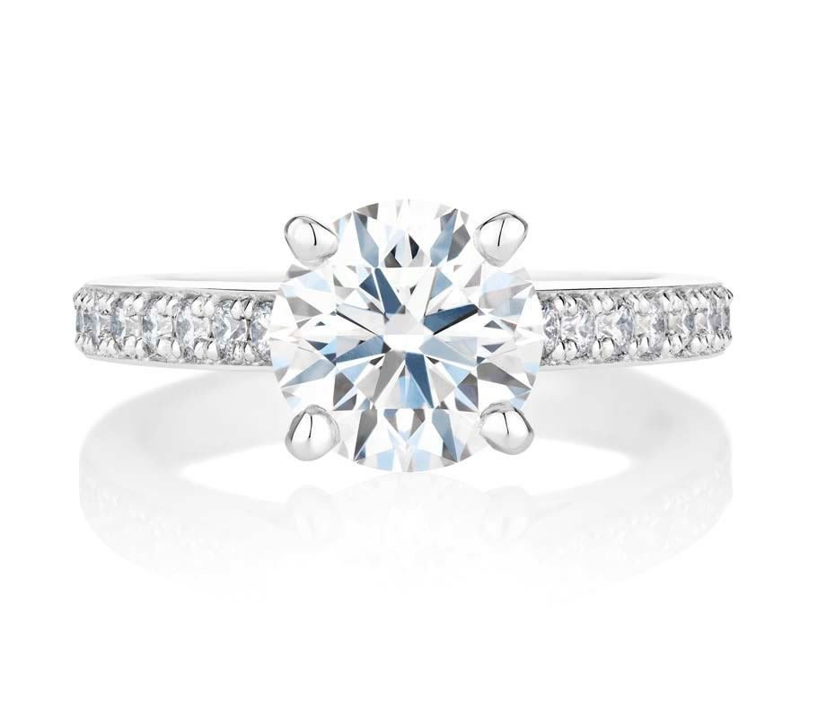 Check Out De Beers Stunning Old Bond Street Solitaire