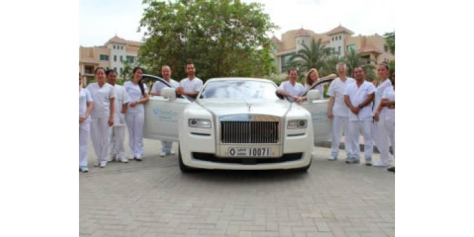 Only In Dubai Dental Clinic Offers Rolls Royce Pick Up And Drop