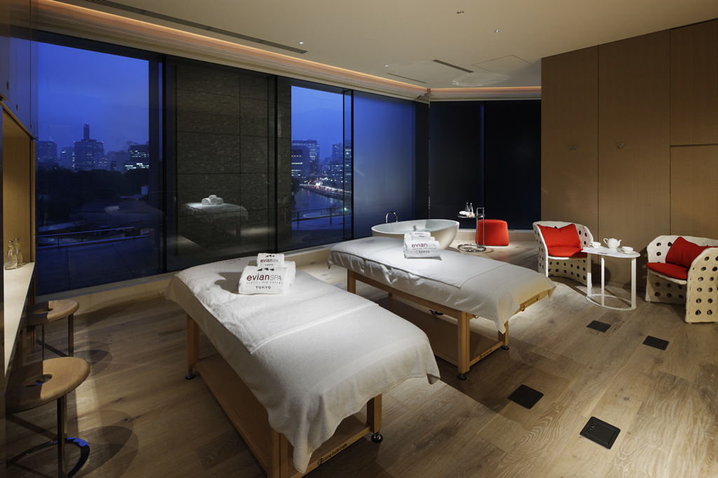 Spa Of The Week Evian Spa At The Palace Hotel Tokyo